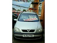54 Plate - Vauxhall Zafia Energy DTi 2.0cc, Diesel, 7 Seats Low Mileage