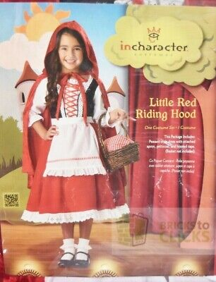 Halloween Costumes- Little Red Riding Hood Elite Collection Child Costume Sz 10