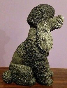 VINTAGE CLASSIC CRITTERS ~Dark Grey POODLE~7.25
