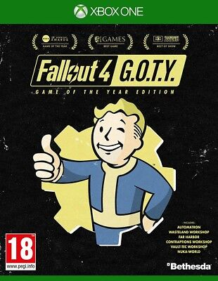 Fallout 4 Game of the Year Edition | Xbox One New