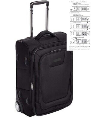 Best Expand Luggage Bag Smooth rolling in-line skate wheels provide 22