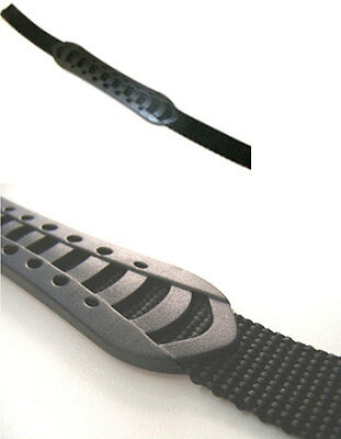 15mm width 36cm Long Black Plastic and Webbing carry handle for bags, rucksacks