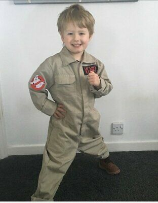 Kids Ghostbusters Costume Outfit - childs ghostbuster uniform - Ghostbusters Outfit Kids