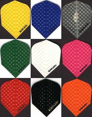 6 Pack Of Dimplex  Dart Flights  Standard Cut  6 Sets