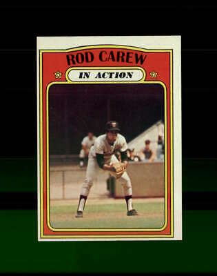 1972 Topps Baseball #696 Rod Carew IA STARX 9 MINT OC CS79310