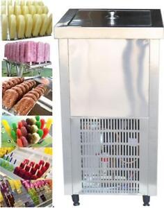 110V Stainless Steel Commercial Popsicle Maker Ice Cream Make NO.239059