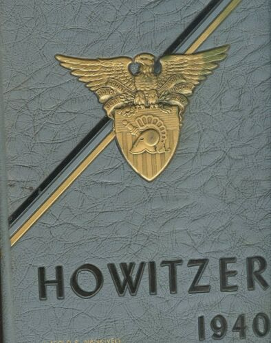 1940 The Howitzer-United States Military Academy Yearbook-West Point New York