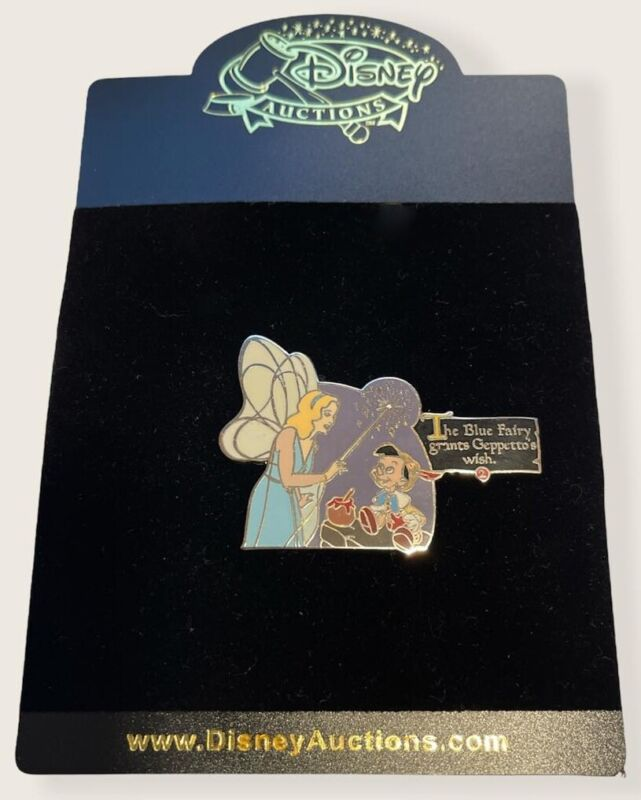 Disney Auctions - Story of Pinocchio Pin - Blue Fairy Grants Wish (LE 100)