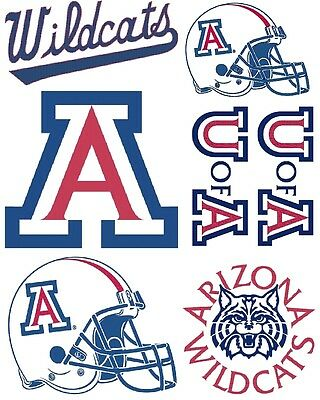 - Arizona Wildcats Iron On T Shirt / Pillowcase Fabric Transfer #1