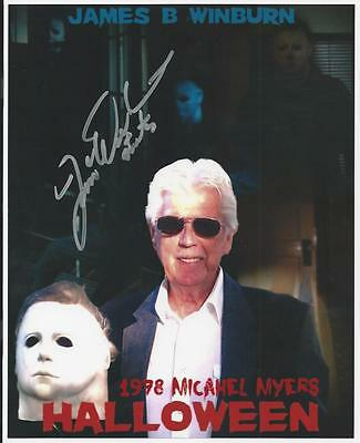 James B. Winburn - Halloween signed photo](James Winburn Halloween)