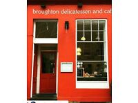 Broughton Deli cook/chef