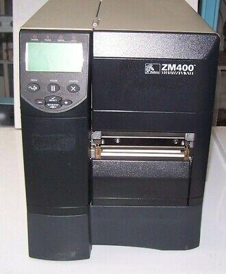 Zebra Zm400 Thermal Label Printer Bar Code Printer Shipping Label Printer
