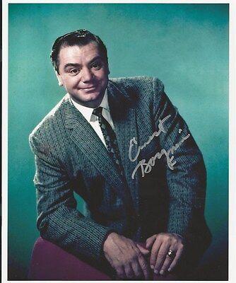 Ernest Borgnine signed photo