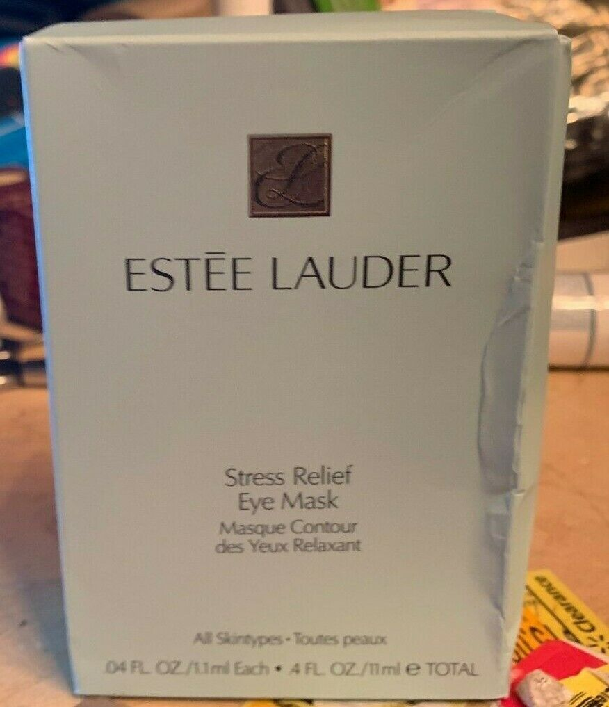 Estee Lauder Stress Relief Eye Mask 10 pairs EACH SEALED NEW
