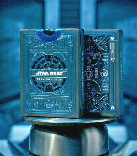 Star Wars Playing Cards Blue The Light Side by Theory11 Jedi Knights Poker Magic