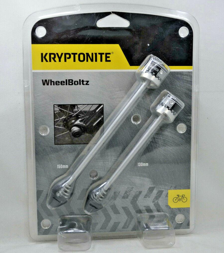 Krytonite Gravity Bicycle Skewers Wheel Boltz Bolts Bike Loc