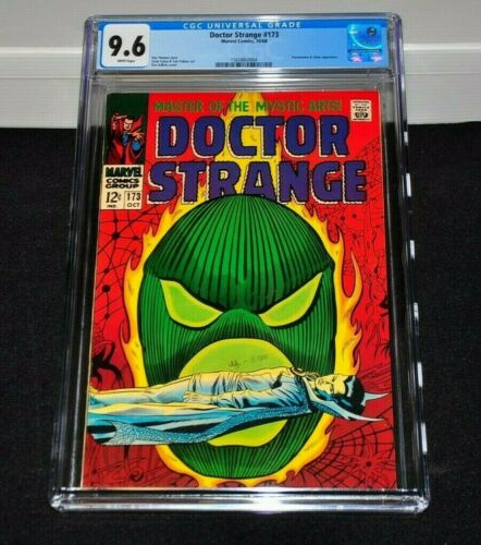 Doctor Strange 173 CGC 9.6 White Pages 1968 Dormammu Appearance
