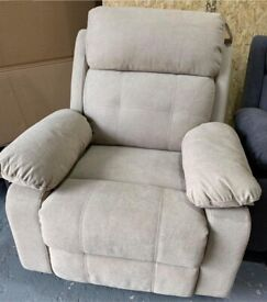MANUAL FABRIC RECLINER CHAIR