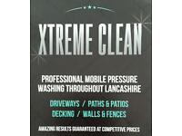 Xtreme clean. External pressure washing service