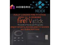 Amazon Fire TV Stick Fully Loaded Kodi 16.1 Mobdro Pulse Build