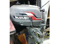 Suzuki 4hp short shaft