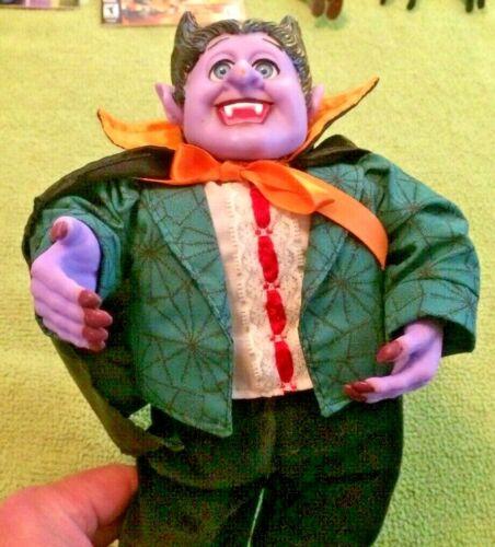 Vintage? Halloween Disco Vampire Animated Figure Moves & Sings Horror Prop