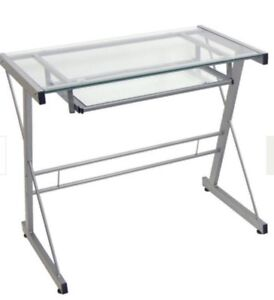 Glass desk in great condition