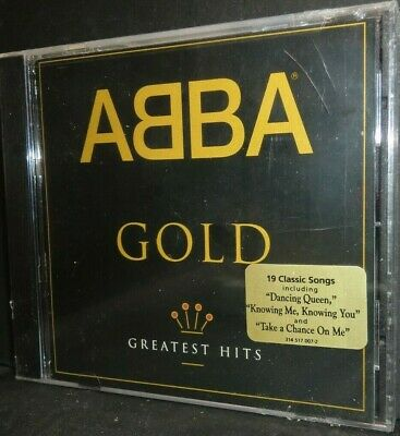 CD Abba Gold Greatest Hits 19 Tracks NEW SEALED  - c