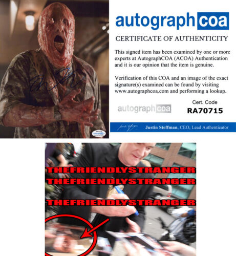 "QUENTIN TARANTINO signed Autographed ""PLANET TERROR"" 8X10 Photo EXACT PROOF ACOA"
