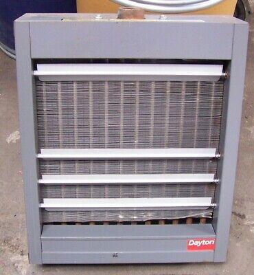 Dayton 5pv47 Steam Hot Water Unit Heater 6000043600 Btu 75150 Psi 900 Cfm