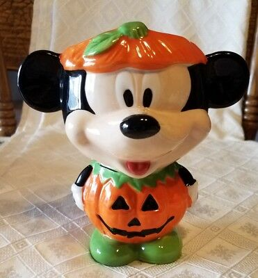 MICKEY MOUSE MUG CUP in PUMPKIN Costume Ready for Halloween by Galerie