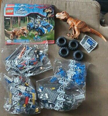 Lego 75918 - Jurassic World - T Rex Tracker - Retired - No Box Included