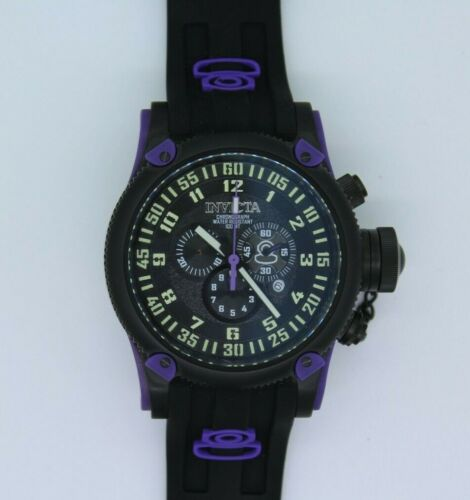 Invicta Russian Diver Watch - Black Dial and Band 10184