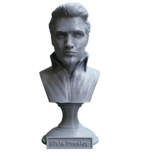 Elvis Presley 5 King of Rock inch 3D Printed Bust Art FREE SHIPPING
