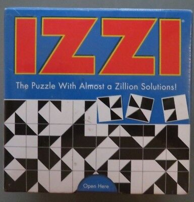 Izzi Puzzle Game With Almost a Zillion Solutions Sealed (B8)