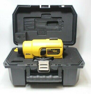 Dewalt Dw096 26x Automatic Optical Level Heavy Duty Auto Level With Case