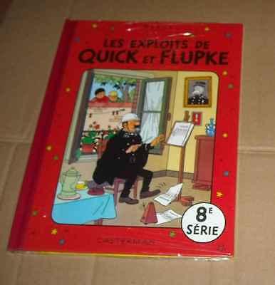 QUICK ET FLUPKE SERIE 8 SOUS CELLO RE Hergé (auteur Tintin & Milou Jo & Zette)
