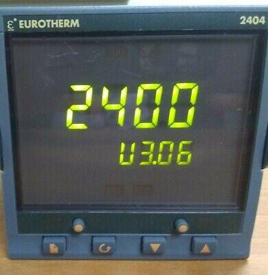 Eurotherm 2404ccvhxxxxxxxxxxxxxxeng Temperature Process Controller