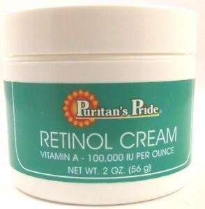 RETINOL CREAM Vitamin A 100,000 I.U. per oz | eBay
