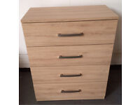 4 drawer chest of drawers DELIVERY AVAILABLE