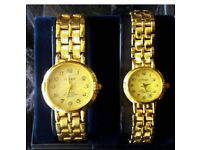 Men's women's watch box set new his and hers