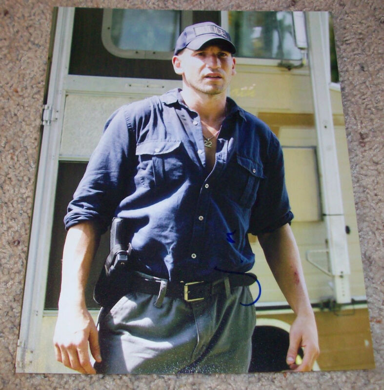 JON BERNTHAL SIGNED THE WALKING DEAD 8x10 PHOTO B w/PROOF AUTOGRAPH