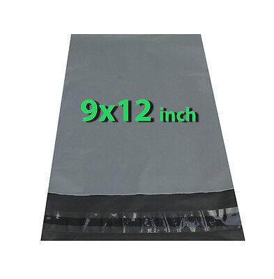 9x12 100X Grey Mailing Bags Strong Poly Postal Postage Post Mail Self Seal DCUK