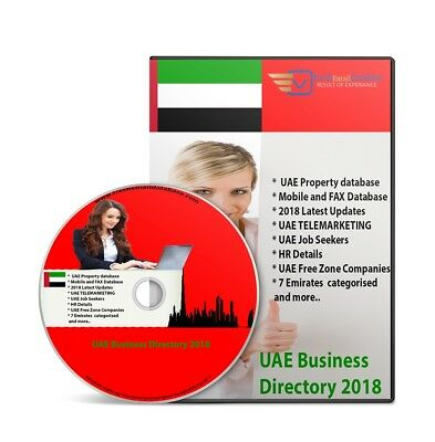 Uae Million Database Email Marketing List Email Delivery