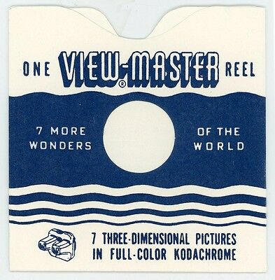 Reel Sleeves for ViewMaster WAVY LINE STYLE - Pack of 25 - NEW