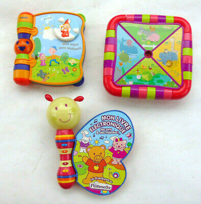 JOUET JEUX D'EVEIL ENFANT 1ER AGE LOT DE 3 CHILDREN TOY GAME FIRST GE, used for sale  Shipping to Nigeria