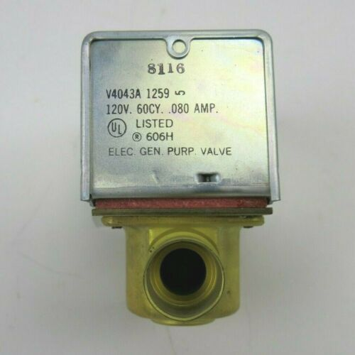 Honeywell V4043A1259 Electric Zone Valve General Purpose
