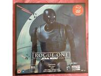 Rogue One A Star Wars Story Big Sleeve limited edition DVD Blu-Ray NEW & SEALED with 12 art cards