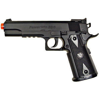 500 FPS WG AIRSOFT M1911 NON BLOWBACK CO2 GAS HAND GUN PISTOL w/ 6mm BB BBs