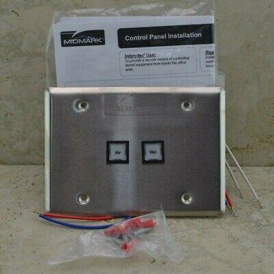Midmark Control Panel Air Vac Dental Unit